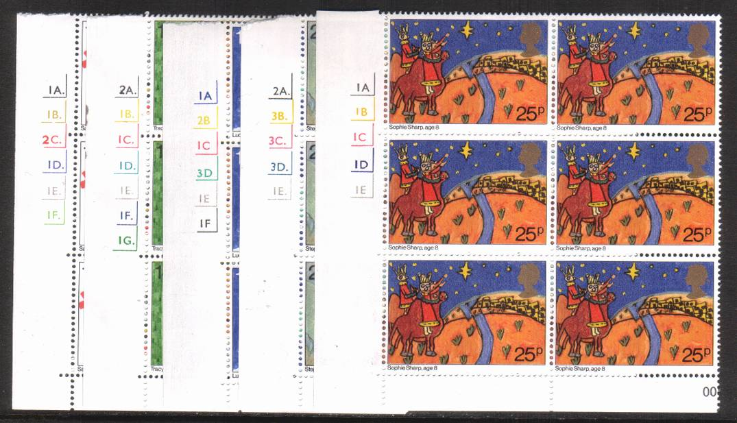view larger image for SG 1170-1174 (1981) - Christmas<br/>