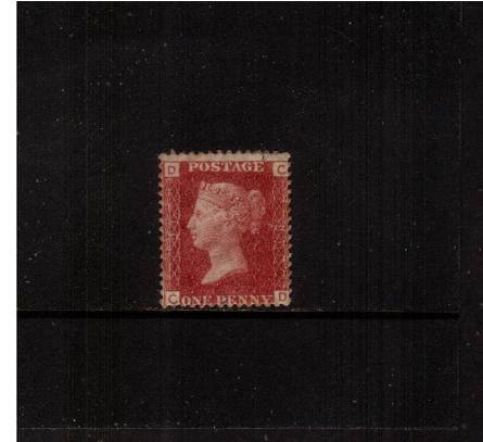 view larger image for SG 43 (1864) - 1d Rose-Red from Plate 91