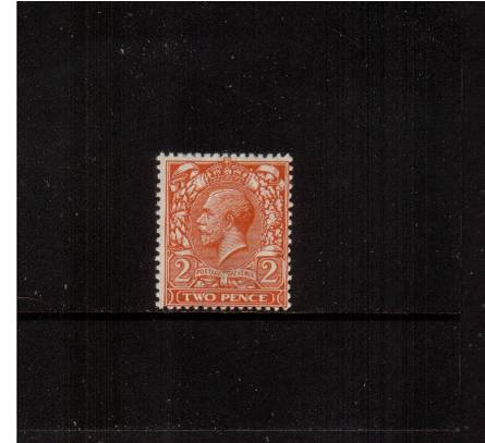 view larger image for SG 368 (1912) - 2d Orange - Die I<br/>