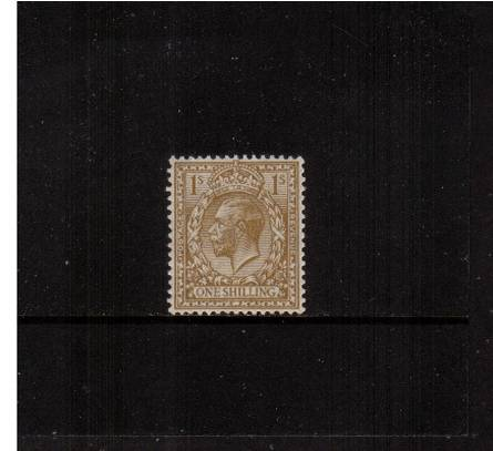 view larger image for SG 429 (1924) - 1/- Bistre-Brown<br/>