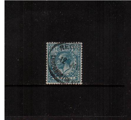 view larger image for SG 428 (1924) - 10d Turquoise-Blue<br/>