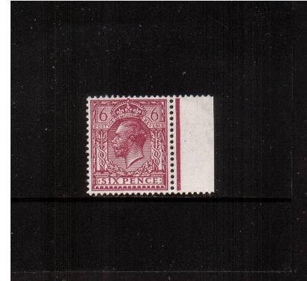 view larger image for SG 426a (1924) - 6d Purple<br/>