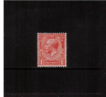 view larger image for SG 419 (1924) - 1d Scarlet<br/>
