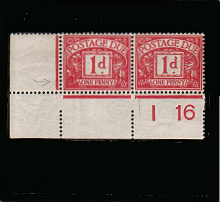 view larger image for SG D2 (1914) - 1d Carmine