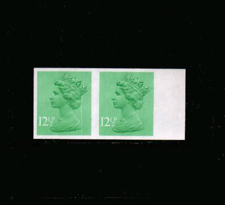 view larger image for SG X898a (1982) - 12½p Light Emerald - 1 Centre Band<br/>