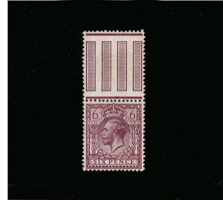 view larger image for SG 385 (1912) - 6d Reddish Purple<br/>