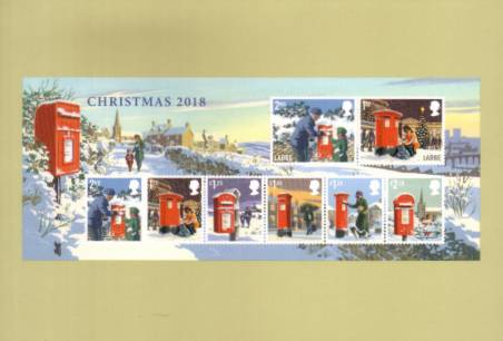 view larger image for PHQ No.450 (2018) - Christmas<br/>
