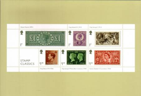 view larger image for PHQ No.452 (2019) - Stamp Classics<br/>