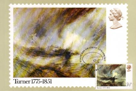 view larger image for PHQ No.9F (1975) - Turner<br/>A single UNADDRESSED card cancelled on front with the special LONDON WC handstamp.