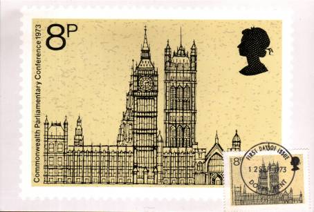 view larger image for PHQ No. 3F (1974) - Commonwealth Parliamentary Conference<br/>