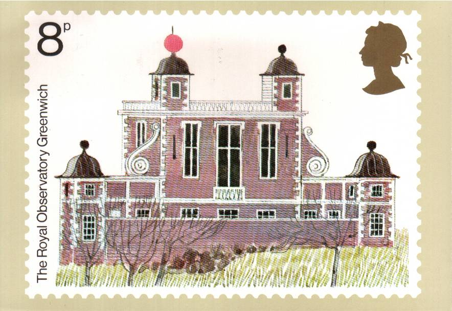 view larger image for PHQ No.10B (1975) - Architectural Heritage set of three cancelled on back with a PHILATELIC BUREAU EDINBURGH handstamp