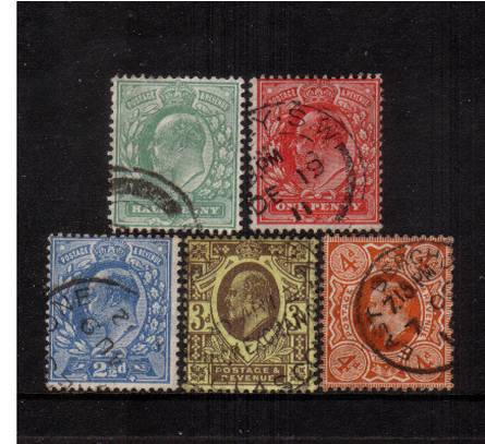 view more details for stamp with SG number SG 279-286