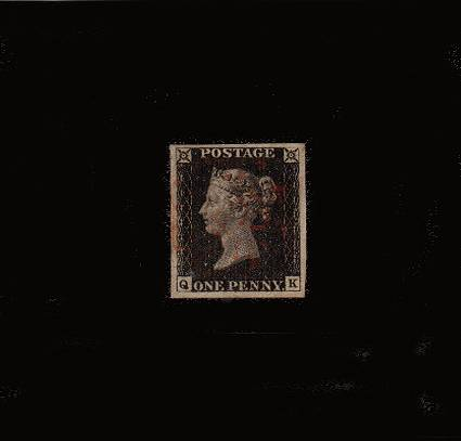 View British Stamp Random Selection: SG 2 - 1840
