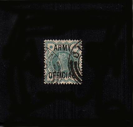 view larger image for SG O42 (1900) - <b>ARMY OFFICIAL</b><br/>