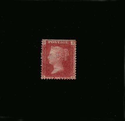 view larger image for SG 43 (1864) - 1d Rose-Red from Plate 97 lettered ''R-B''