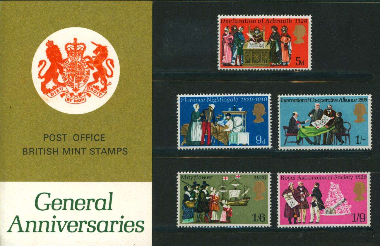 Stamp Image: view larger back view image for General Anniversaries<br/>