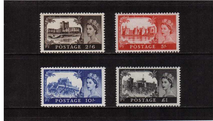 view larger image for SG 759-762 (1967) - Elizabeth II <br/>