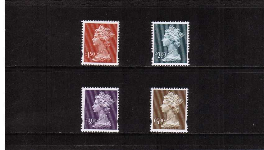 view larger image for SG Y1800-Y1803 (1999) - Elizabeth II <br/>
