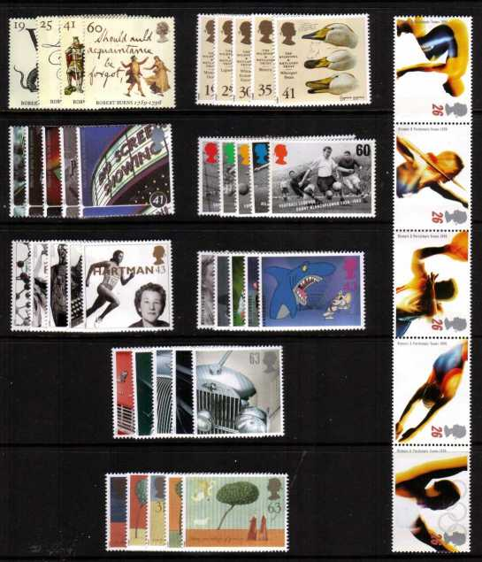 view larger image for Commemorative Year Sets -  (1996) - <BR/>