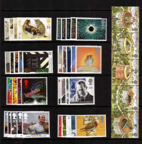 view larger image for Commemorative Year Sets -  (1995) - <BR/>