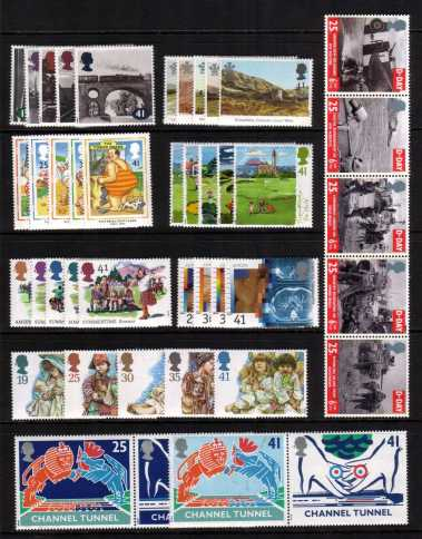 view larger image for Commemorative Year Sets -  (1994) - <BR/>
