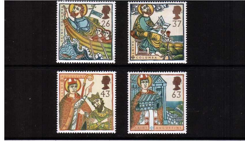 view larger image for SG 1972-1975 (1997) - Religious Anniversaries<br/>set of four