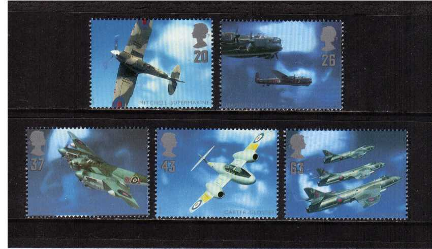 view larger image for SG 1984-1988 (1997) - British Aircraft Designers<br/>set of five