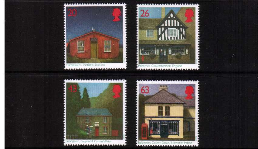 view larger image for SG 1997-2000 (1997) - British Sub-Post Offices<br/>set of four