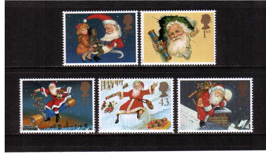 view larger image for SG 2006-2010 (1997) - Christmas - Christmas Cracker<br/>set of five