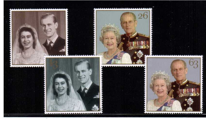 view larger image for SG 2011-2014 (1997) - Royal Golden Wedding<br/>set of four