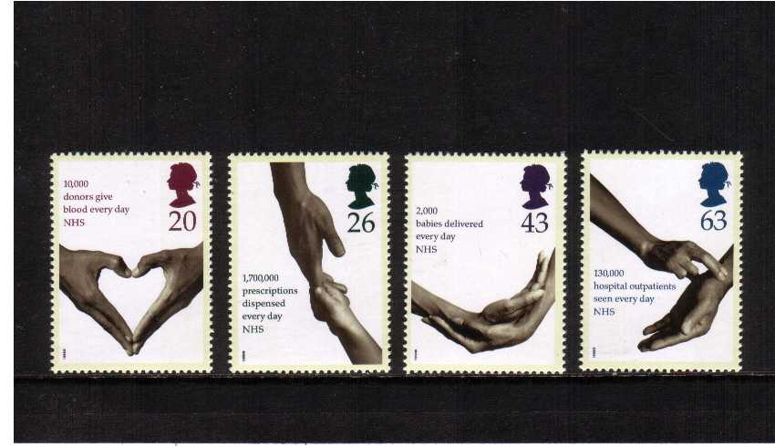 view larger image for SG 2046-2049 (1998) - National Health Service<br/>set of four