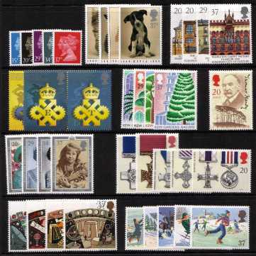 view larger image for Commemorative Year Sets -  (1990) - <BR/>