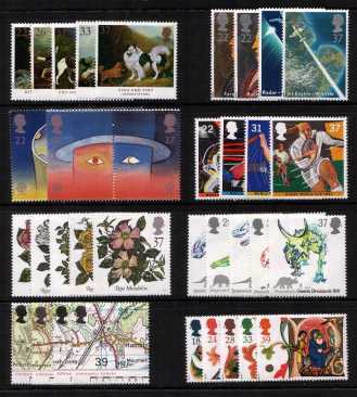 view larger image for Commemorative Year Sets -  (1991) - <BR/>