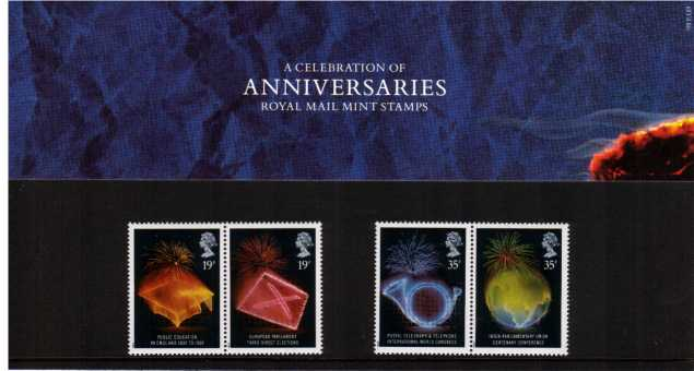 Stamp Image: view larger back view image for Anniversaries<br/><br/>