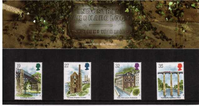 Stamp Image: view larger back view image for Industrial Archaeology<br/><br/>