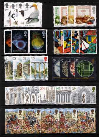 view larger image for Commemorative Year Sets -  (1989) - <BR/>