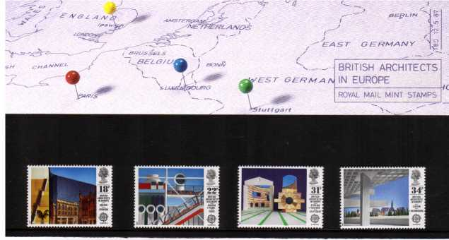 Stamp Image: view larger back view image for EUROPA - Architects in Europe<br/><br/>
