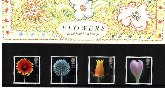 Stamp Image: view larger back view image for Flower Photographs<br/><br/>