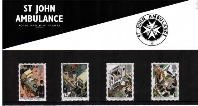 Stamp Image: view larger back view image for St John Ambulance Brigade<br/><br/>