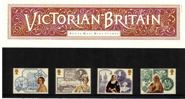 Stamp Image: view larger back view image for Victorian Britain<br/><br/>
