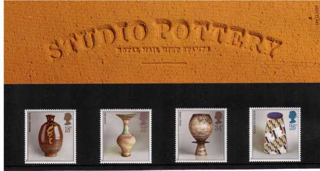 Stamp Image: view larger back view image for Studio Pottery<br/><br/>