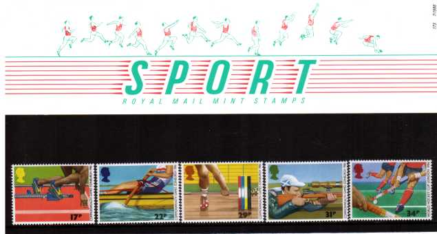 Stamp Image: view larger back view image for Commonwealth Games<br/><br/>