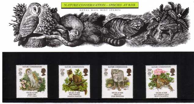 Stamp Image: view larger back view image for EUROPA - Nature Conservation<br/><br/>