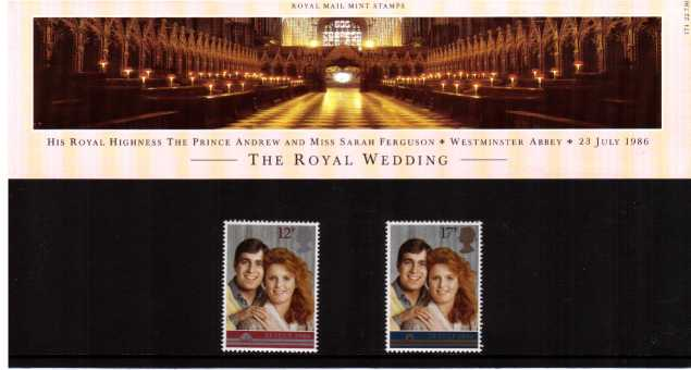 Stamp Image: view larger back view image for Royal Wedding<br/><br/>