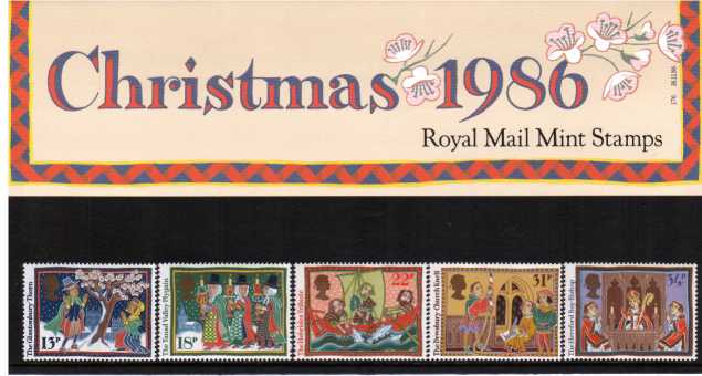 Stamp Image: view larger back view image for Christmas - Folk Customs<br/><br/>