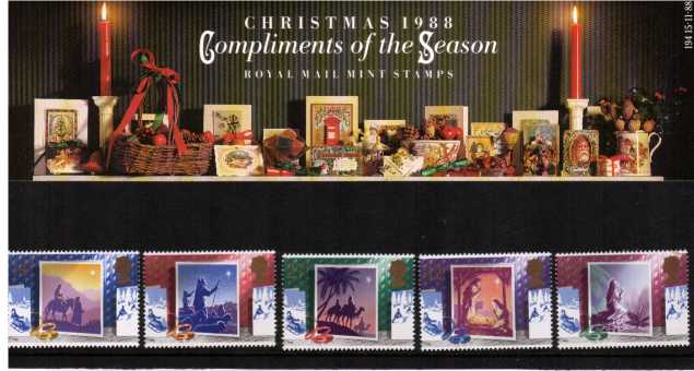 Stamp Image: view larger back view image for Christmas - Christmas Cards<br/><br/>