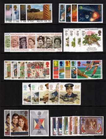 view larger image for Commemorative Year Sets -  (1986) - <BR/>