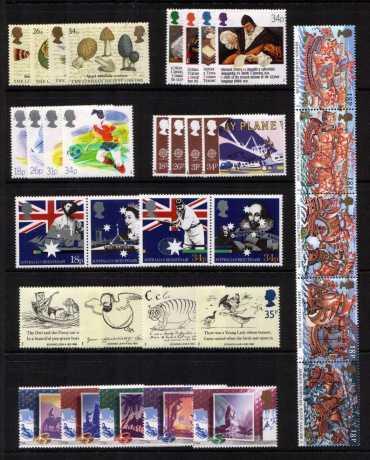 view larger image for Commemorative Year Sets -  (1988) - <BR/>