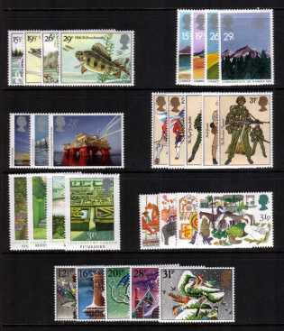 view larger image for Commemorative Year Sets -  (1983) - <BR/>