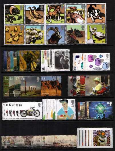 view larger image for Commemorative Year Sets -  (2005) - <BR/>